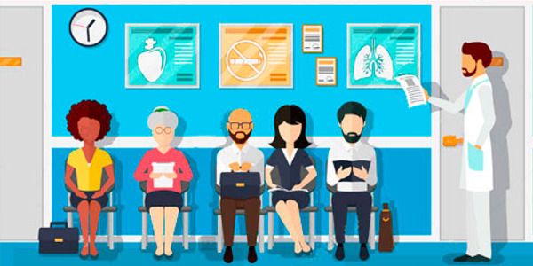 Как использовать ожидание в очереди к врачу